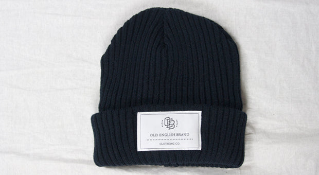 The Prestigious Navy Blue Thermal Knitted Beanie