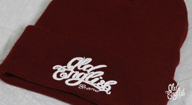 The Original Beanie in Burgundy