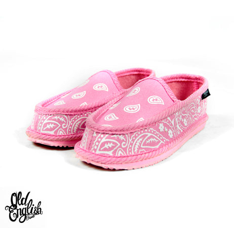 You Gots To Chill Pink Bandana Slippers