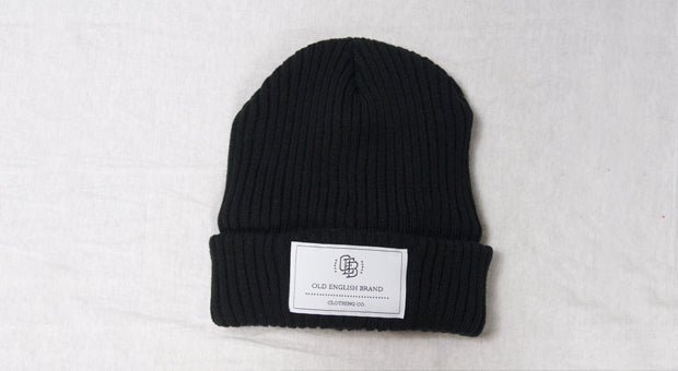The Prestigious Black Thermal Knitted Beanie
