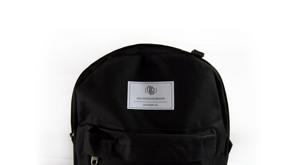 OE Venture Black Backpack