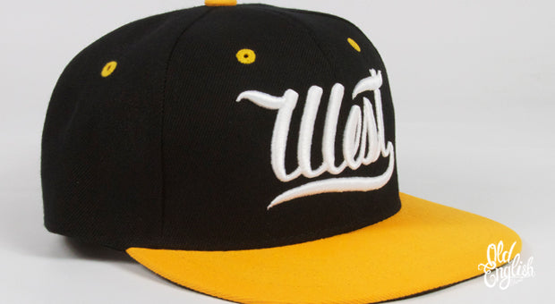 West OE Black & Yellow Snapback