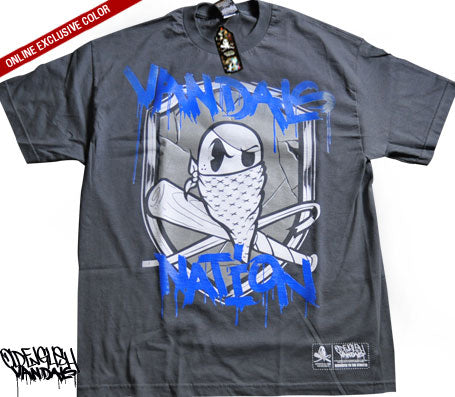 Oe Vandals Nation - Charcoal