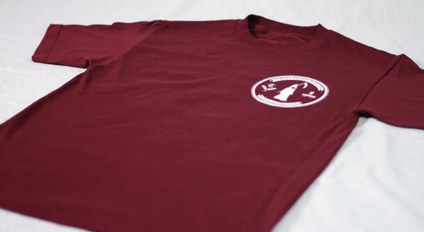 Reality Check Pocket Print - Burgundy