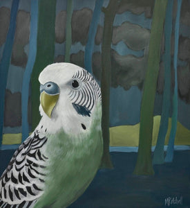 """Ethyl"" Budgie by Trees"