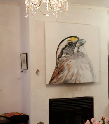 sparrow art print, art for your walls