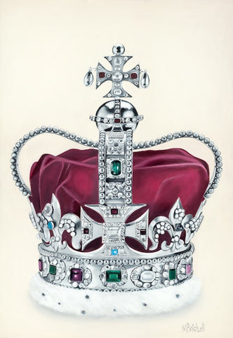 St Edward's Crown Painting