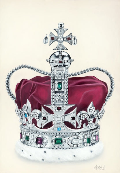 St Edwards Crown Art Print