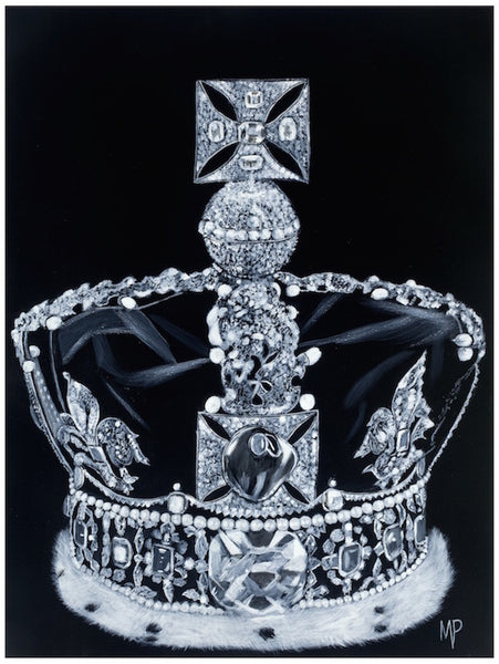 The Imperial State Crown 1937 Art Print