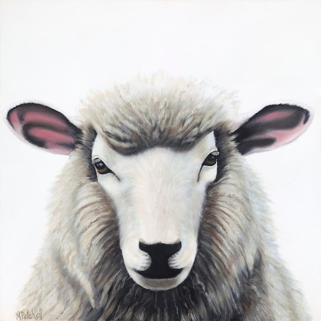 "Sheep Painting ""Esther"""