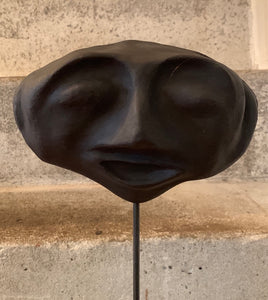 Oval Face Sculpture mask