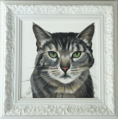 Tabby Cat (Framed)