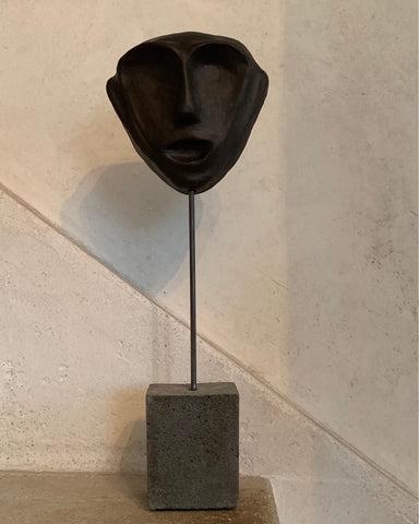 Triangle Head Sculpture Mask