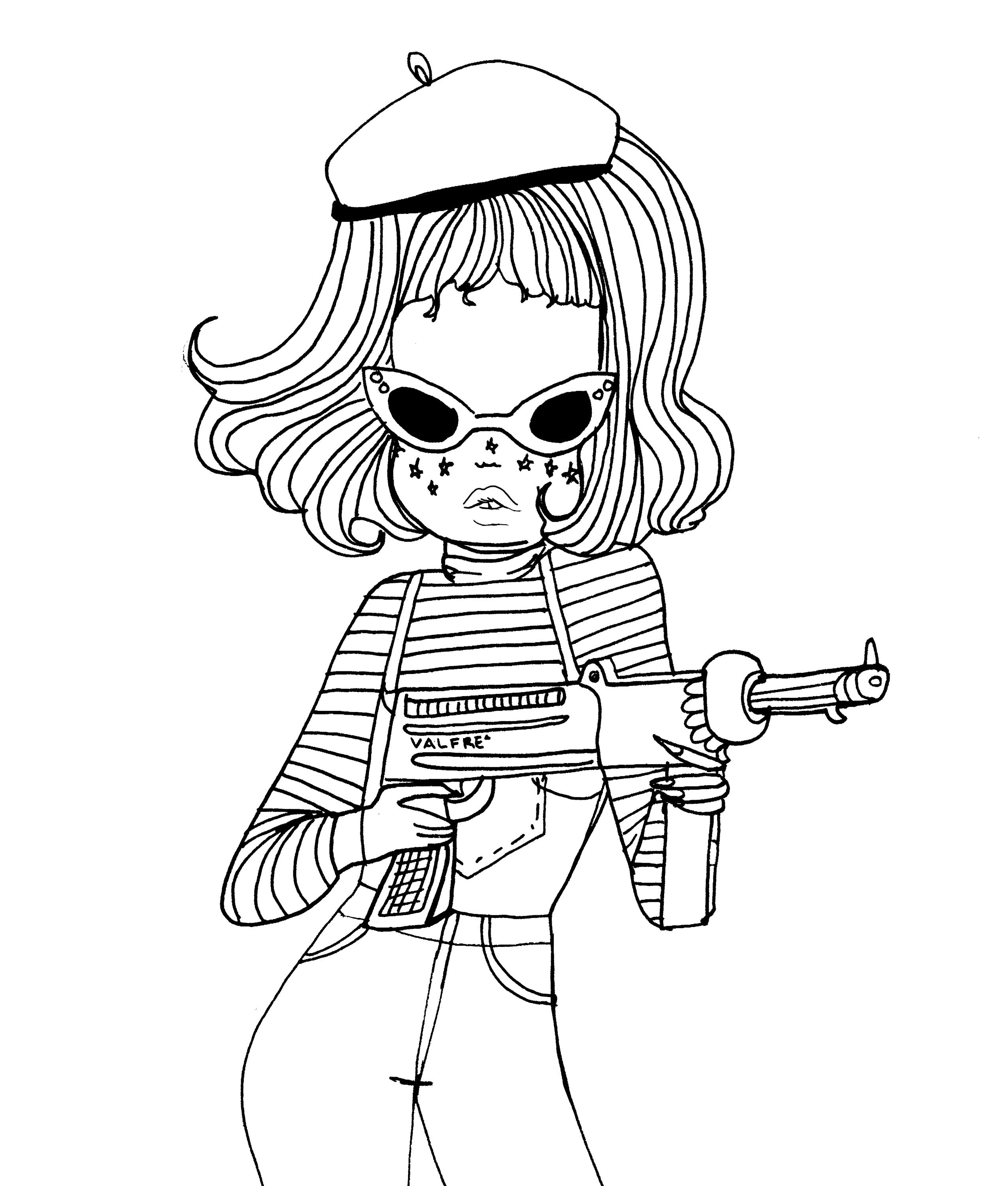 phone room coloring pages - photo#42