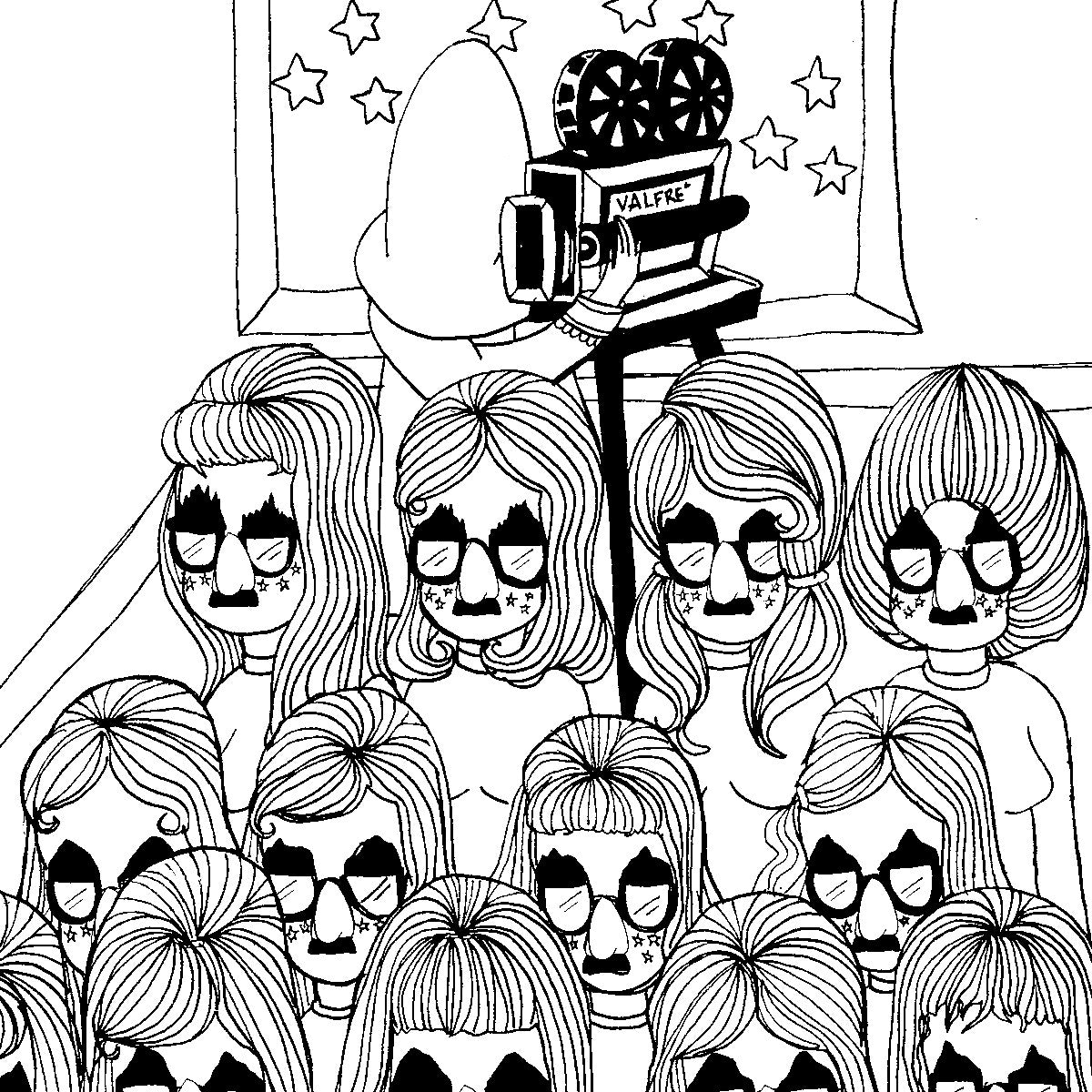 download the movie girl coloring page