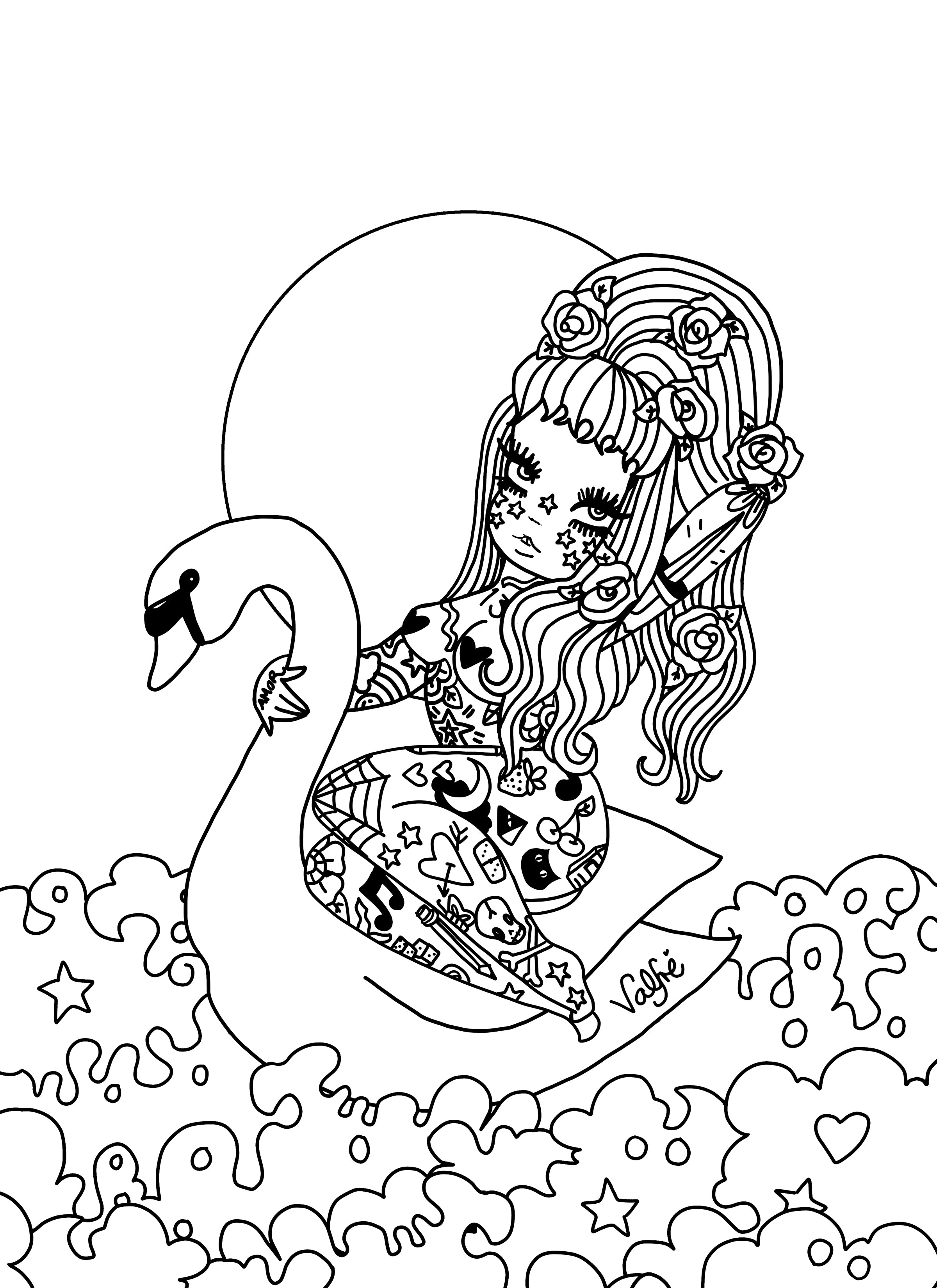 Mouth Coloring Pages - GetColoringPages.com | 3300x2400