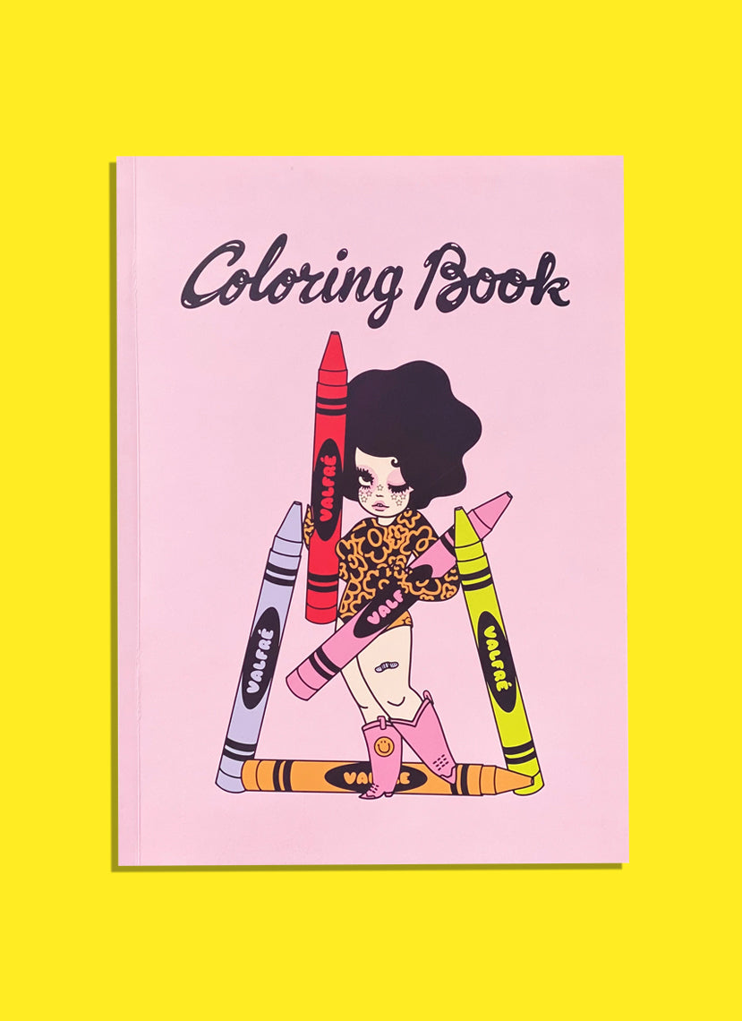 Valfre Coloring Book