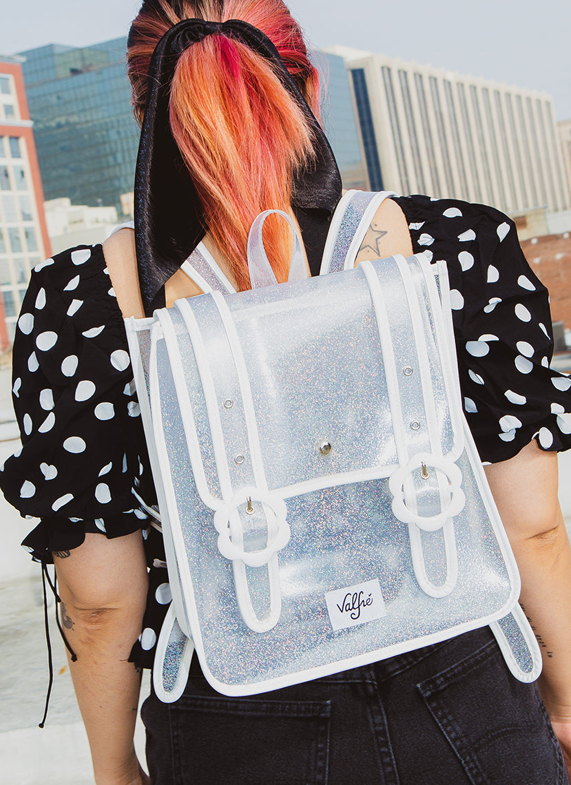 Daisy Backpack (Clear)