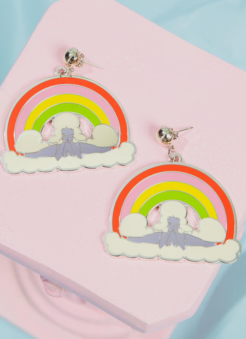 Rainbow Splits Earrings