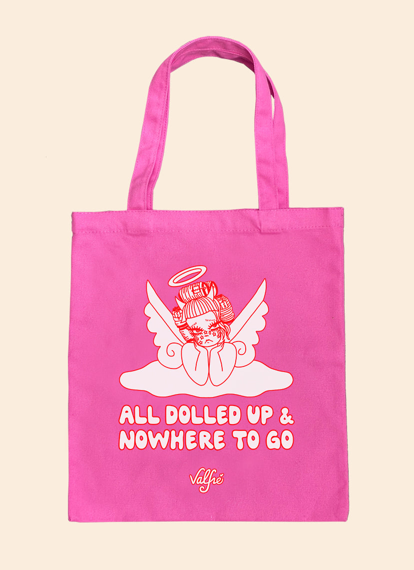 All Dolled Up Pink Tote