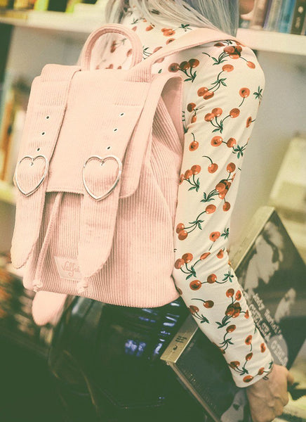 Madeline Backpack (Blush Pink)