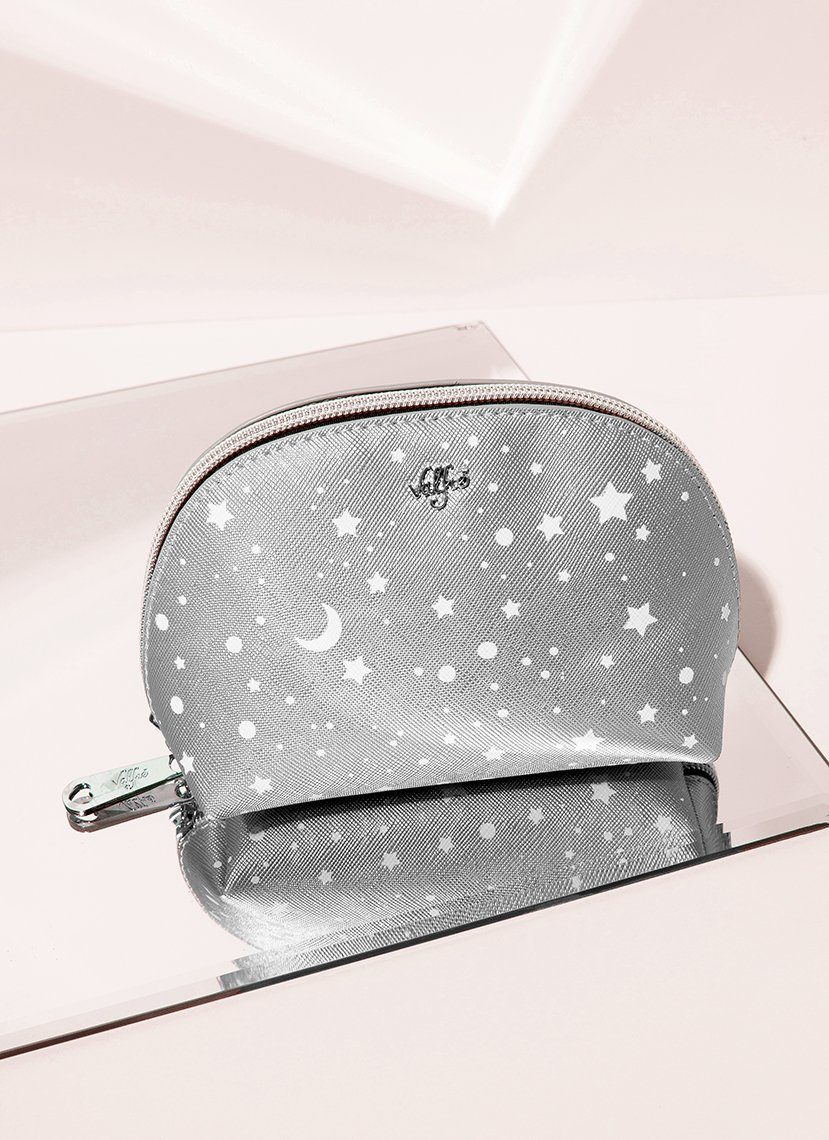 Holographic Cosmetic Bag - Star Print Makeup Pouch