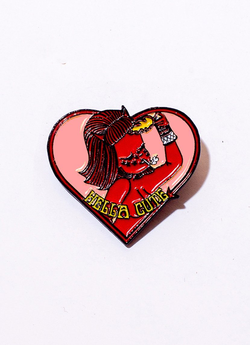 Hella Cute Pin