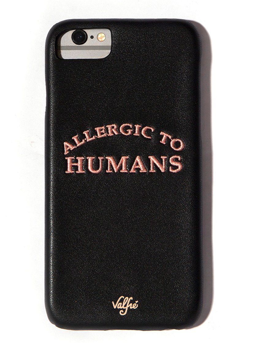 allergic to humans iphone case