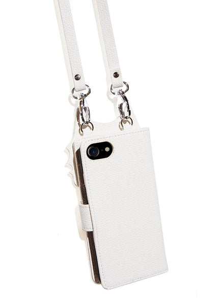 Blanco iPhone Wallet Case