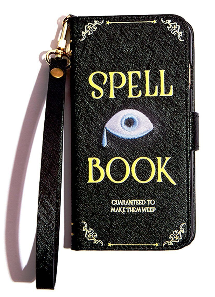 spell book iphone wallet