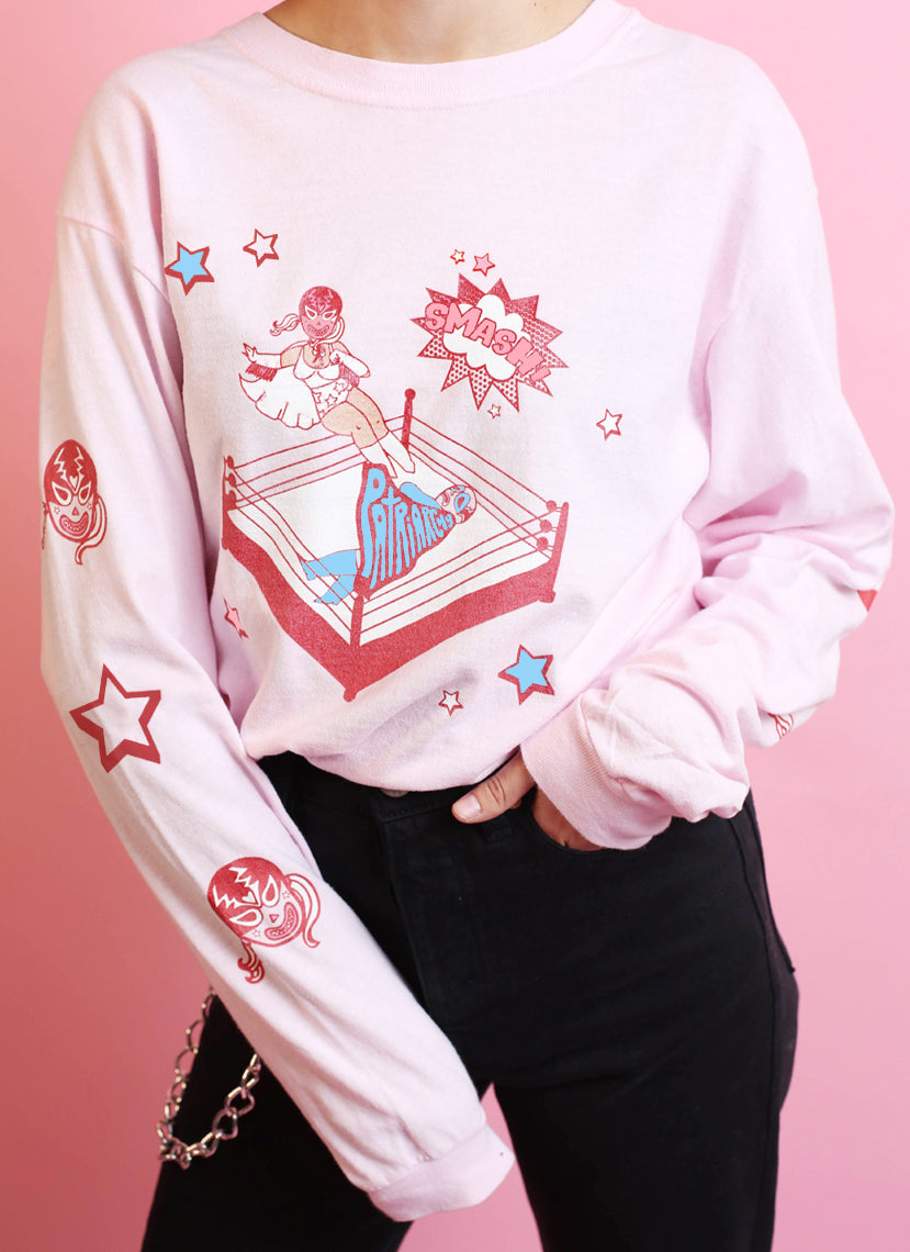 Smash The Patriarchy Long Sleeve Top (Limited Edition)