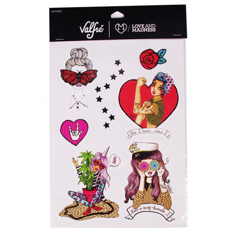 Mind Trip + Valfré Girls Temporary Tattoos - Valfre - 1