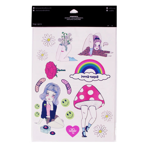 Mind Trip + Valfré Girls Temporary Tattoos - Valfre - 2