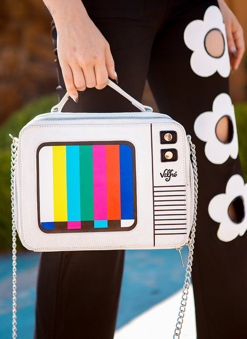 Color Bar Purse