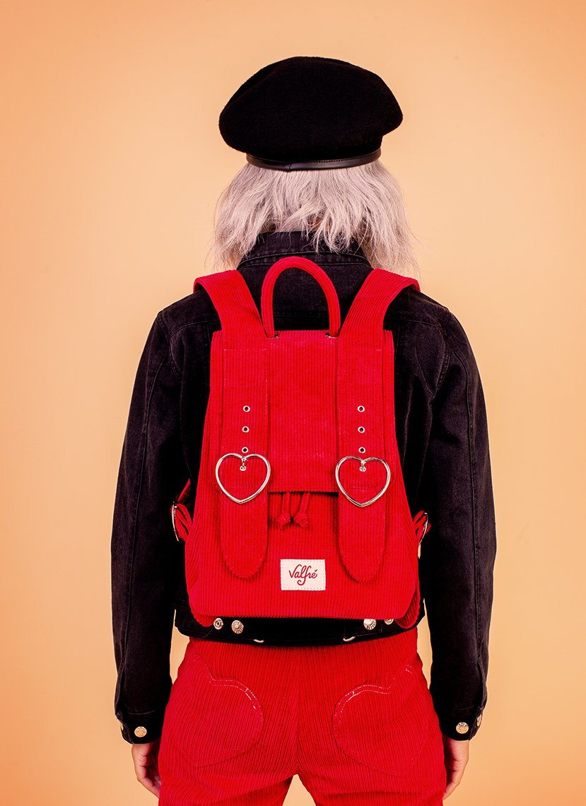 Madeline Backpack (Red)