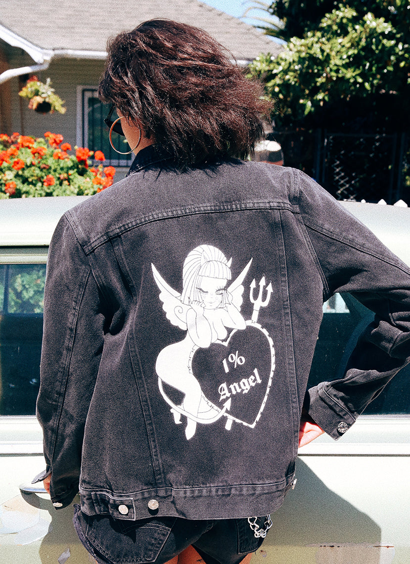 1% Angel Denim Jacket