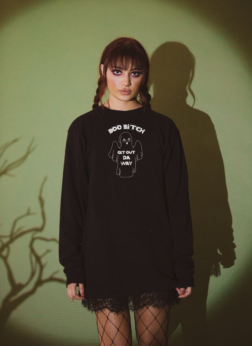 Get Out Da Way Long Sleeve Tee