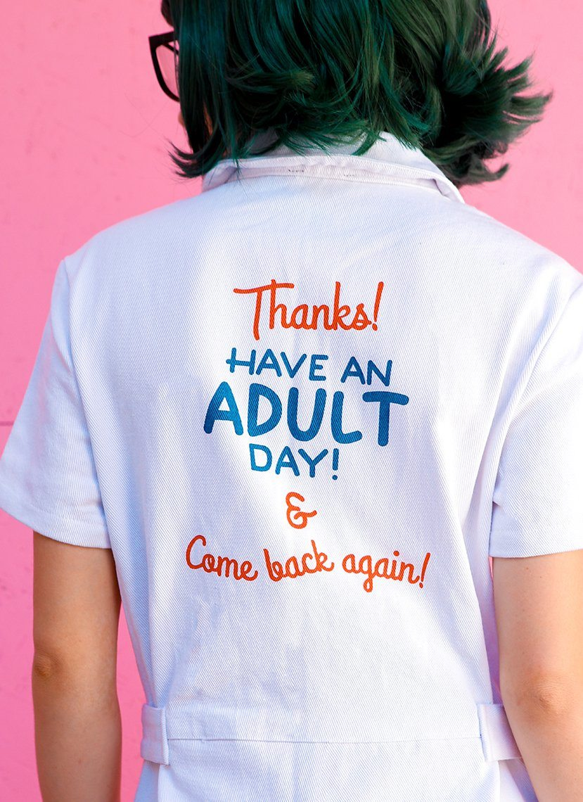 Have an Adult Day Jumpsuit