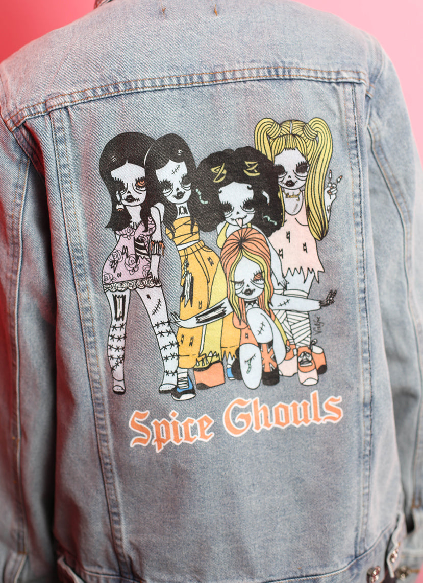 Spice Ghouls Denim Jacket
