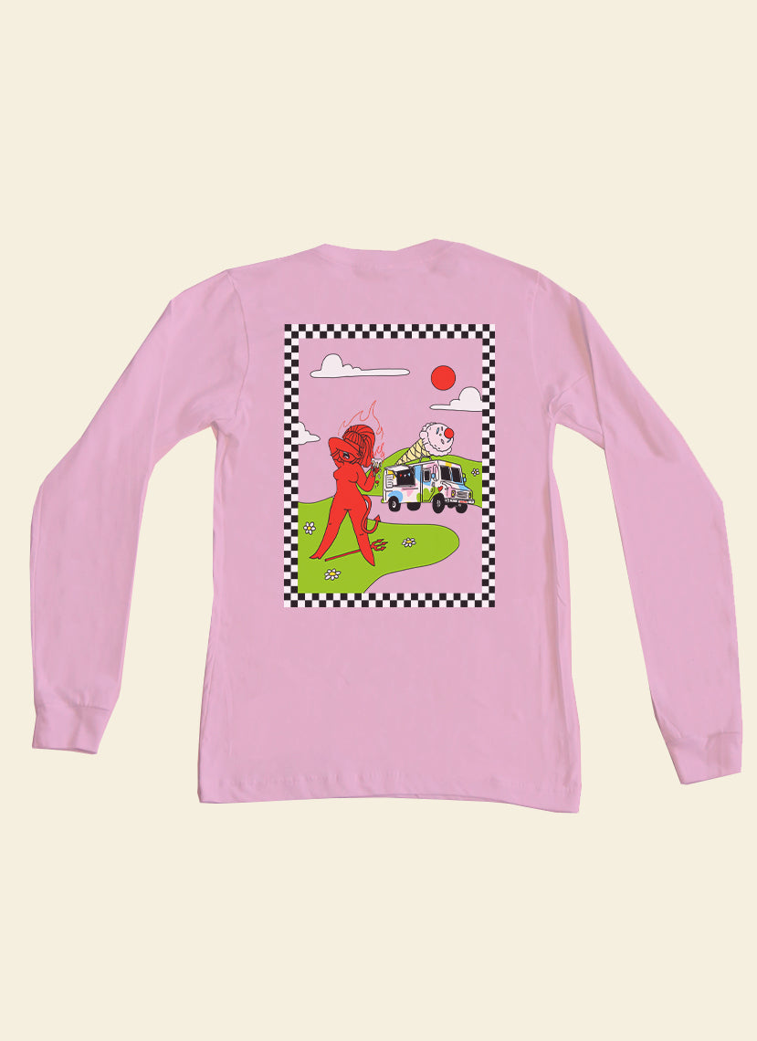 Ice Scream Long Sleeve Top