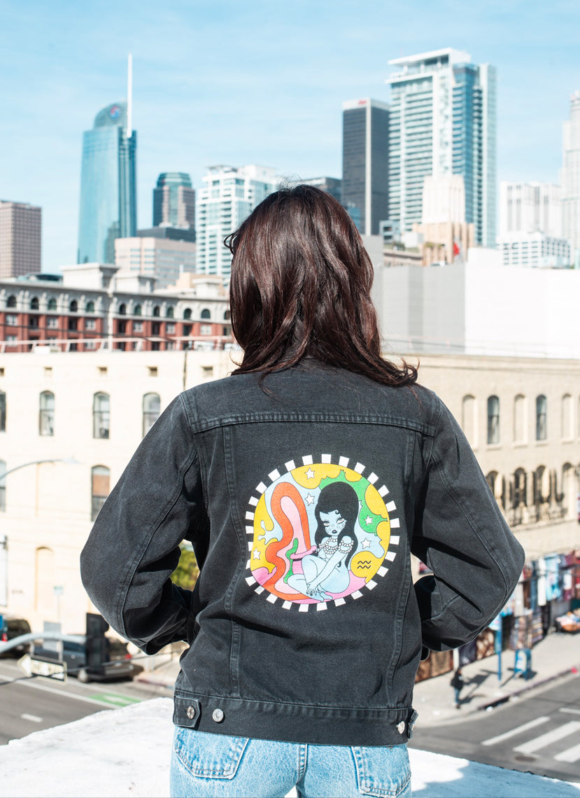 Aquarius Wonderland Denim Jacket