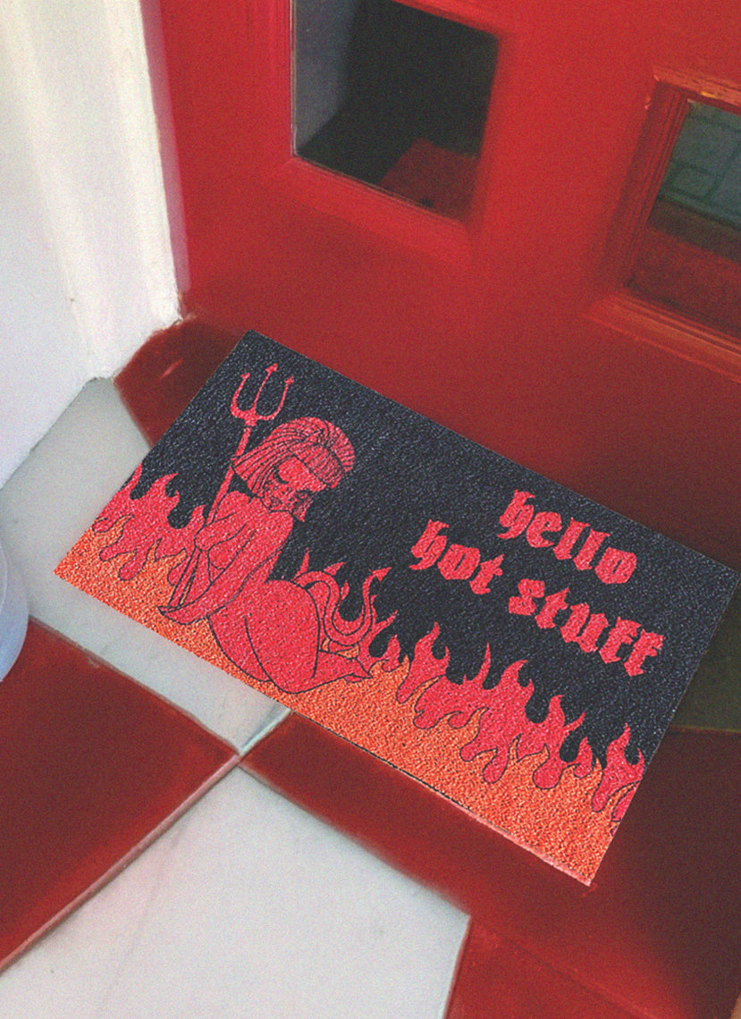 Hello Hot Stuff Doormat