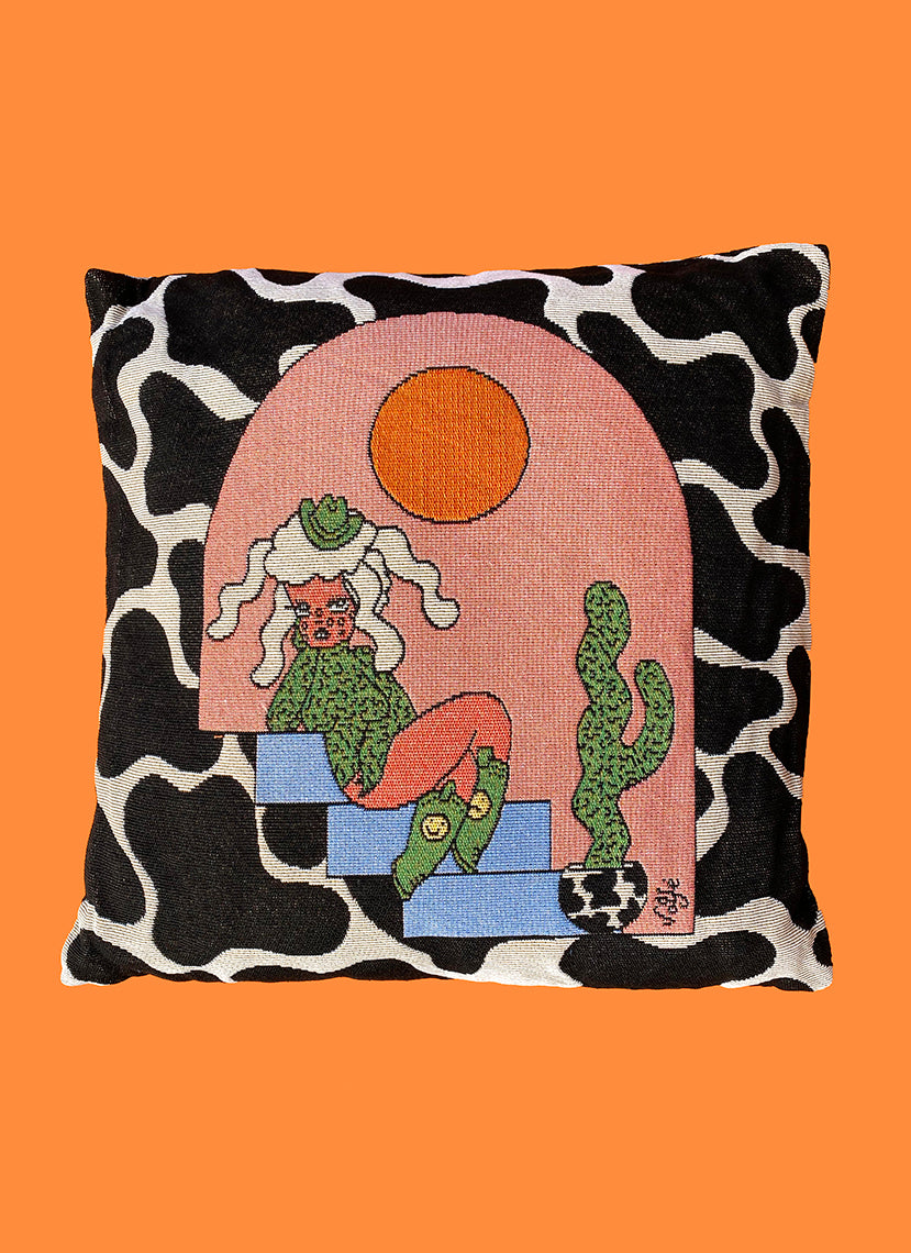 Santa Fe Throw Pillow