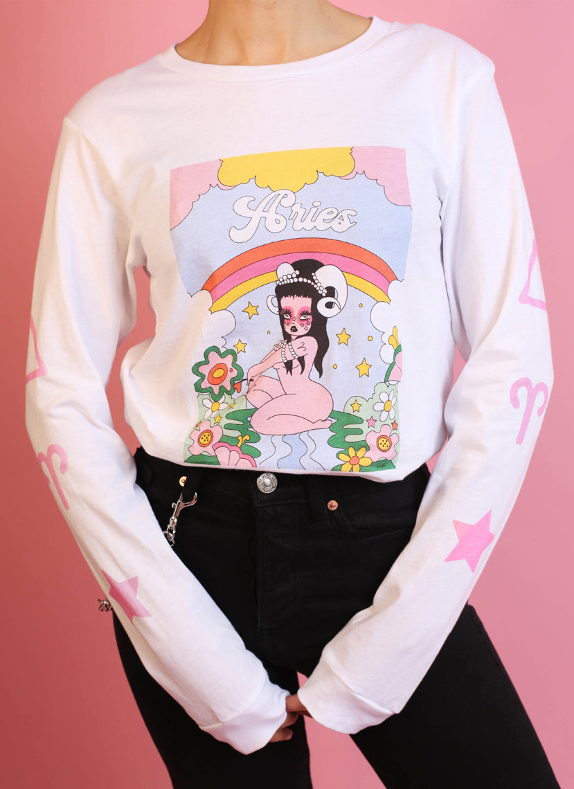 Aries Wonderland Long Sleeve Tee