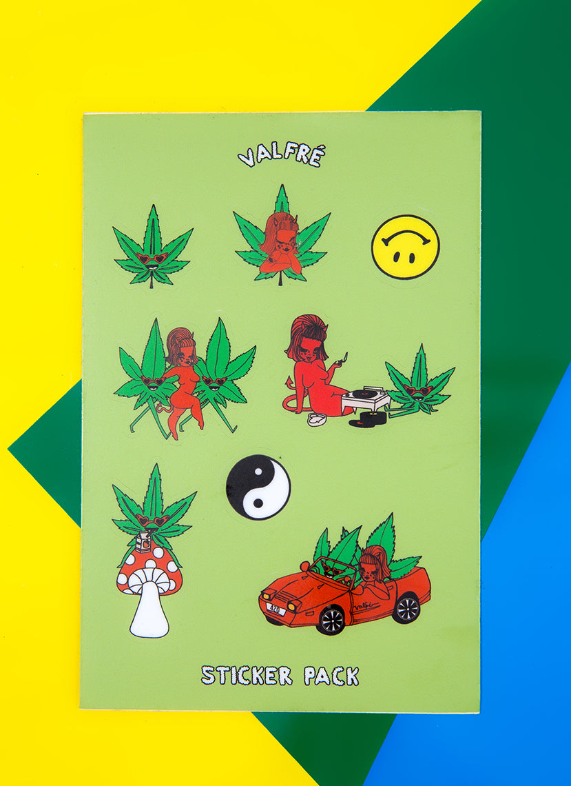 Lucy 420 Sticker Sheet