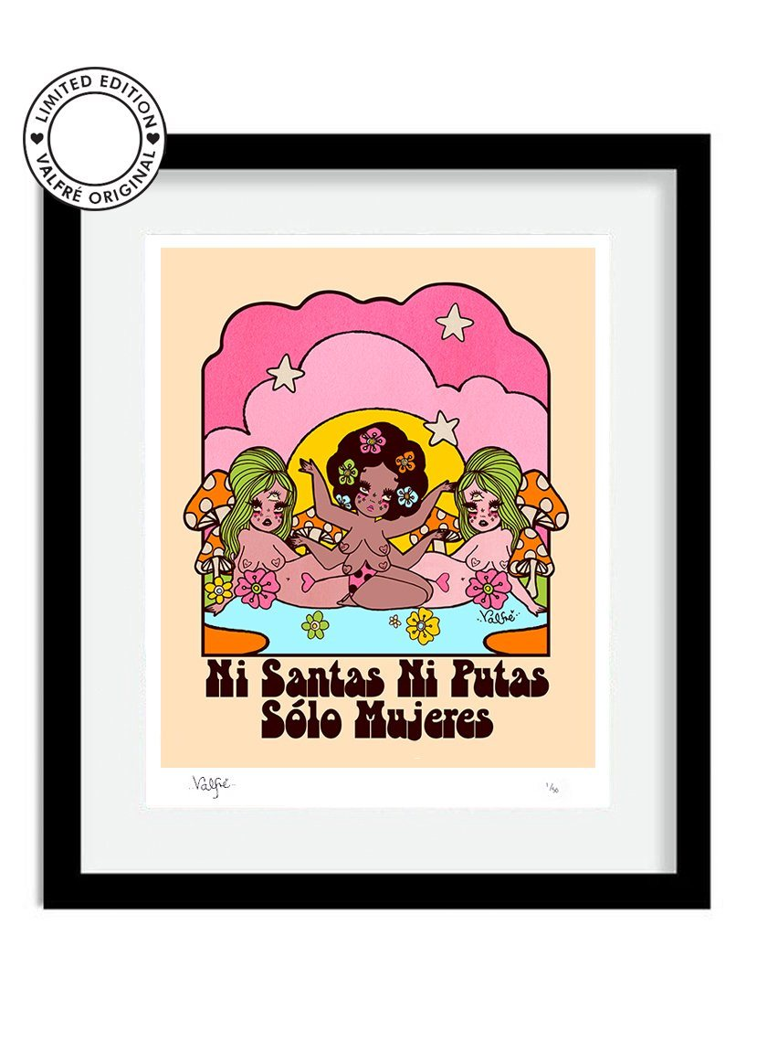 Mujeres Limited Edition Print