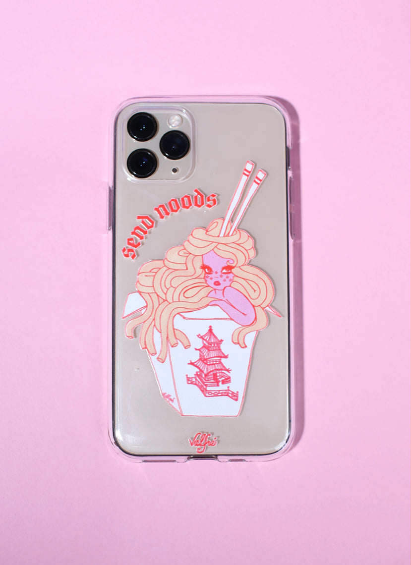 Take Out Clear Phone Case