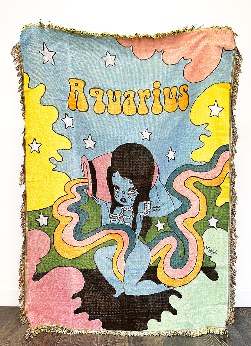 Aquarius Wonderland Woven Blanket