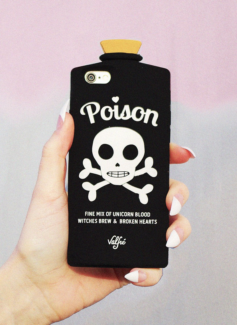 Poison 3D iPhone 6+/6S Plus Case (Black)