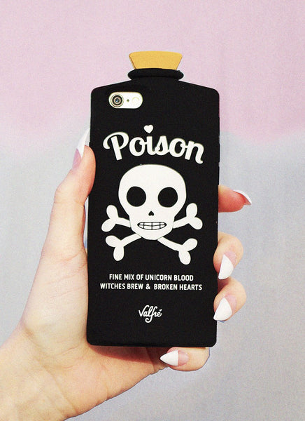 Poison 3D iPhone Case (BLACK)